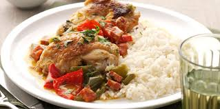 la cuisine facile poulet basquaise facile facile recette sur cuisine actuelle