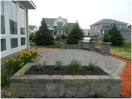 Outdoor Paver Patio Ideas by Backyards Bright Concrete Paver Patio Designs Cool Ideas Green
