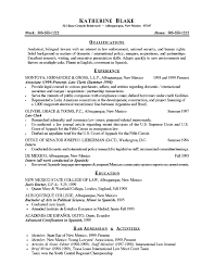 Resume Sample Objectives