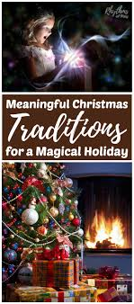 meaningful traditions for a magical rhythms of