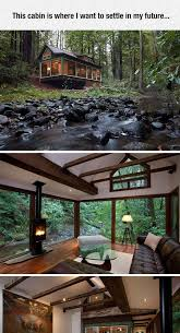 i want to disappear to wherever this is cabin log cabins and logs