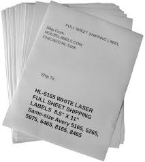 8 Labels Per Sheet Template Self Adhesive Labels For All Printers Houselabels Com Print