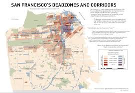 San Francisco Neighborhood Map by Visualizing Mental Maps Of San Francisco
