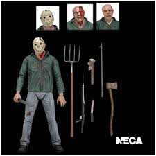 neca friday 13th part 3 ultimate jason figure mad about horror