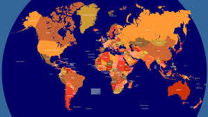 World Map Flat by World Map With Countries Maps Map Cv Text Biography Template