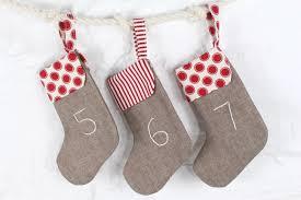 diy stocking advent calendar made to sew