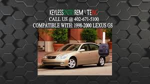 lexus rx330 key shell replacement how to replace lexus gs key fob battery 1998 1999 2000 youtube