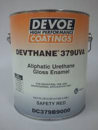 devoe devthane 379uva aliphatic urethane gloss enamel paint