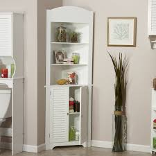 antique white corner cabinet riverridge home ellsworth collection tall corner best solutions of