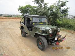 jeep samurai for sale 1988 mahindra cj 500d 4wd diesel jeep team bhp