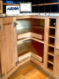 Corner Cabinet Storage Solutions Kitchen Corner Cabinet Storage Solutions Blind Cabinet Storage
