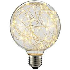lightstory g14 globe led bulb e26 vintage 2200k starry decorative