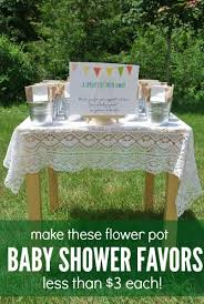 flower pot favors how to make plant seed party favors the sweetest digs