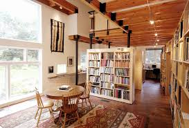 Rustic Room Dividers by Sliding Room Dividers Home Office Contemporary With Sloped Ceiling