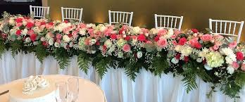 Flower Table L Affordable Wedding Flowers Sydney Justbeautifulbridalblooms