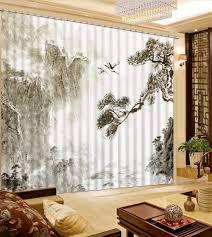 Decoration Style Montagne by Online Get Cheap Rideaux De Style Chinois Aliexpress Com
