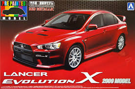mitsubishi red red mitsubishi lancer evolution x 2009 plaza japan