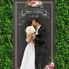 wedding backdrop chalkboard personalized wedding z create design