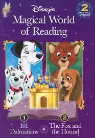 disney u0027s magical reading fox u0026 houd u0026 101 dalmatians