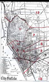 New York Bus Map by Buffaloresearch Com Historic Maps Of Buffalo Erie