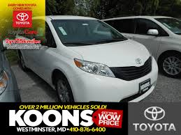 new toyota sienna in annapolis md inventory photos videos