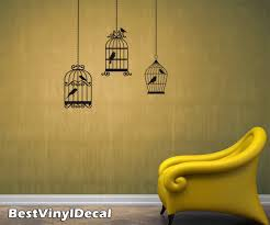 wall decal birds color the walls of your house wall decal birds bird cage wall decals with 6 birds vinyl