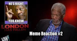 Meme London - morgan freeman reacts to funny memes of himself talks london
