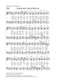 sing to the lord of harvest hymnary org