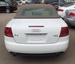 white audi a4 convertible for sale audi a4 convertible white quatro model 2007 audi cars for sale