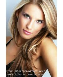 tressmatch hair extensions 16 18 chestnut brown blonde highlights clip in remy human hair