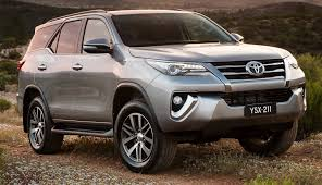 toyota fortuner 2016 toyota fortuner awarded five star ancap rating