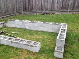 cinder block raised garden bed how do the jones do it
