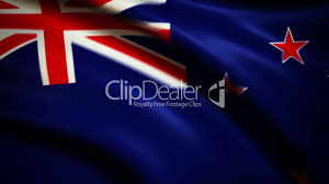 Flag New Zealand Waving Flag New Zealand Punchy Royalty Free Video And Stock Footage