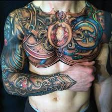 Ideas For Chest Tattoos Best 25 Body Armor Tattoo Ideas On Pinterest Armor Tattoo
