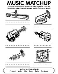 musical match coloring crayola