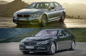 cars comparable to bmw 5 series 2018 bmw 5 series vs 2018 bmw 7 series worth the upgrade u s