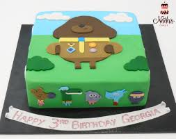 hey duggee themed birthday cake single tier cakes pinterest