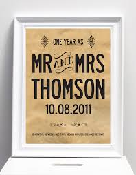 Wedding Gift To Wife Celebrating The First Year As Husband And Wife I Love Design