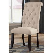 linen dining room chairs ashley signature design d530 01 linen upholstered chair