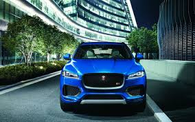 jaguar front comparison ford edge sport 2017 vs jaguar f pace premium