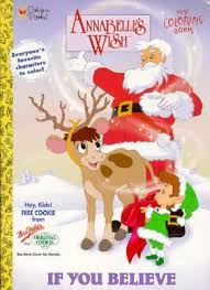 annabelle s christmas wish annabelle s wish by golden books