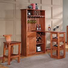 Wood Bar Chairs Friends Stylish Solid Wood Bar Table Bar Chairs Several Suits