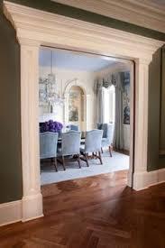 dining room trim ideas framing pillar idea for basement theater room home decor