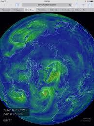 Earth Wind Map March 2015 Robertscribbler