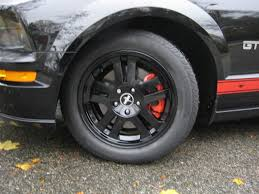 Black Mustang Wheels 2007 Mustang Gt Painted My Factory Wheels Black Page 3 Ford