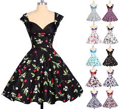 vintage style u003e flowers swing 50s 60s pinup jive housewife retro