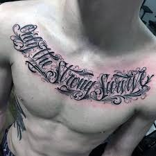 50 chest quote designs for phrase ink ideas