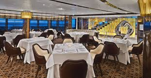 r ovation cuisine dining plans revealed for luxury cruise ship seabourn ovation