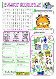 past tense irregular verbs crossword puzzle such a fun activity