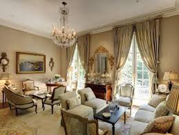 attractive most beautiful living rooms with crystal chandelier